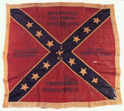 5th Alabama battalion flag