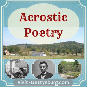 Featured Photo: Gettysburg Acrostic