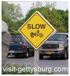 slow for motorcycles